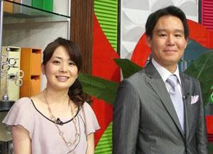 NHK橋本奈穂子アナウンサーとの記念写真